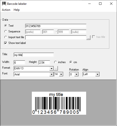 Fath Software - Products - BarcodeX - barcode for Office